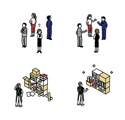 職場環境シーン